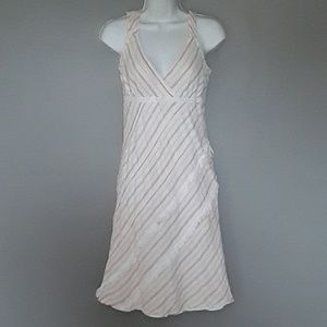 Free People cream and red stripe sundress, 8